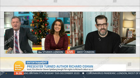 Editorial photo of 'Good Morning Britain' TV Show, London, UK - 15 Dec 2020