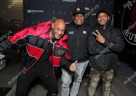 5ive Mics, Producer Damien Douglas and Stevie J