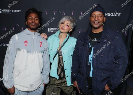Supa Good, Nevaeh Jolie and Producer/Director Deon Taylor