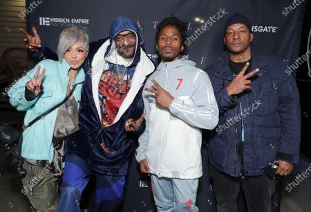 Nevaeh Jolie, Snoop Dogg, Supa Good and Producer/Director Deon Taylor