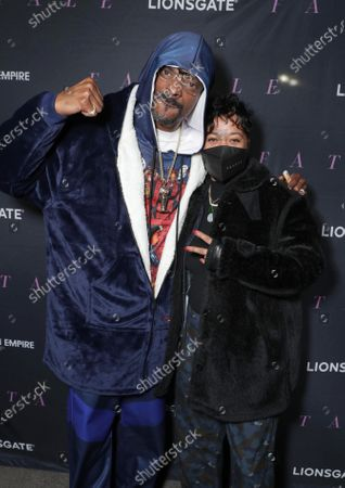 Snoop Dogg and Producer Roxanne Avent