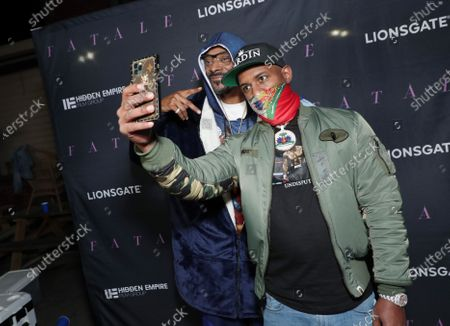 Snoop Dogg and DJ Whoo Kid