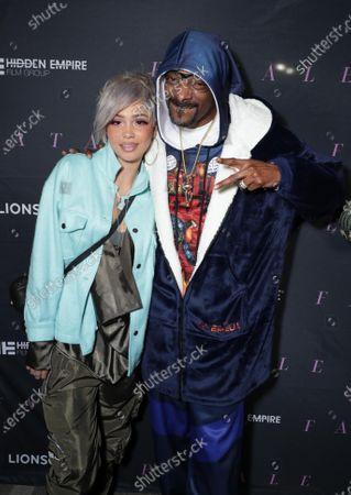 Nevaeh Jolie and Snoop Dogg