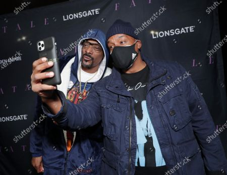 Stock Picture of Snoop Dogg and Producer/Director Deon Taylor