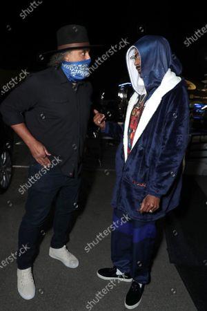 Rick Fox and Snoop Dogg