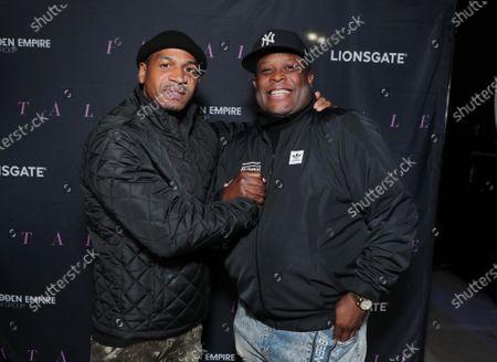 Stevie J and Producer Damien Douglas