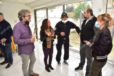 Sarah Abitbol, David Donadei, Roy Cavus