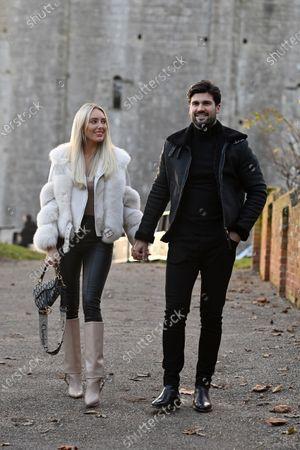 Stock Image of Exclusive - Dan Edgar and Amber Turner