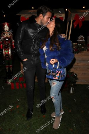 Stock Image of Exclusive - James Lock and Yazmin Oukhellou