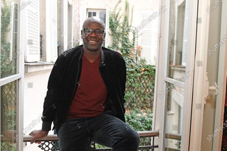 Former French national football team player Lilian Thuram speaks about racism during an interview