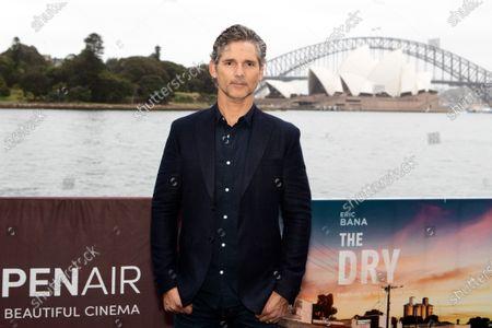 Eric Bana walks the black carpet for the film premiere 'The Dry'