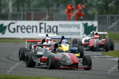 John Byrne (GBR) Team JVA. British Formula Renault Championship, Rd3, Silverstone, England, 8-9 May 2004. DIGITAL IMAGE