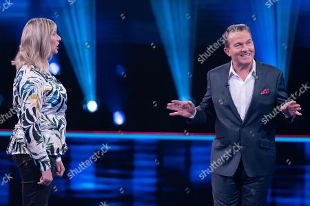 Jane Russell and Bradley Walsh.