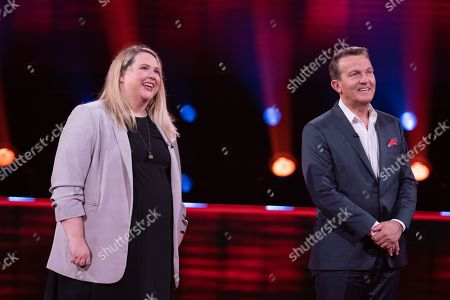 Claire Cooper and Bradley Walsh.