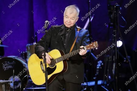 John Prine performs at the Americana Honors & Awards show in Nashville, Tenn. Prine was named artist of the year at the Americana Honors and Awards. The Americana Music Association announced the winners online this year after their awards show, normally held in Nashville, Tennessee, was cancelled because of the pandemic. Prine died April 7, 2020, from complications of the coronavirus. He was 73