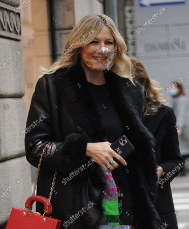 Editorial photo of Natasha Stefanenko out and about, Milan, Italy - 15 Dec 2020