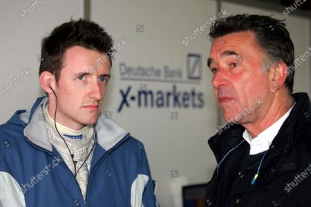 Andy Thompson (GBR) Rollcentre Racing, left. Le Mans Endurance Series, Rd1, Spa 1000km, Spa Francorchamps, Belgium, 15-17 April 2005. DIGITAL IMAGE