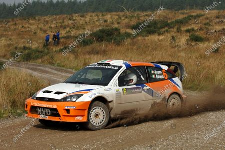 Eamon Boland (IRE) Ford Focus WRC finished 2nd. Rally of Ireland, Sligo City, Ireland. 14-16 October 2005. DIGITAL IMAGE