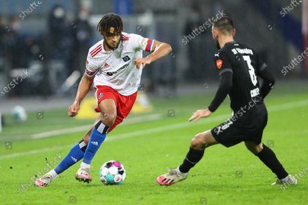 Editorial picture of Hamburger SV v SV Sandhausen, Germany - 15 Dec 2020