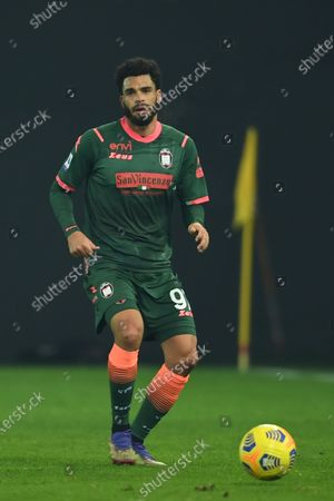 """Emmanuel Riviere (Crotone)           during the Italian """"Serie A"""" match between Udinese 0-0 Crotone  at  Dacia Stadium in Udine, Italy."""