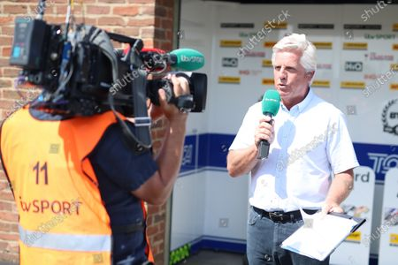 Stock Photo of ITV TV - Steve Rider
