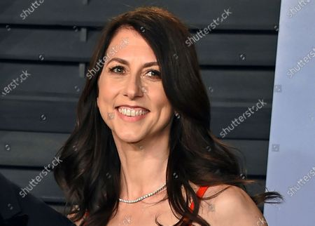 Then-MacKenzie Bezos arrives at the Vanity Fair Oscar Party in Beverly Hills, Calif. A donation from author and philanthropist MacKenzie Scott to Virginia State University has become the largest single donor gift in the historically Black college's history. The $30 million donation by Scott was announced, in a post that detailed the nearly $4.2 billion in gifts given to nonprofit organizations by the philanthropist in 2020
