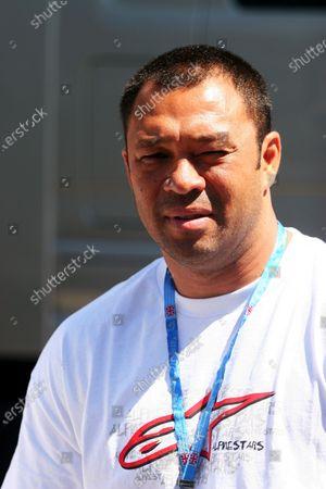 Sonny Garcia (USA) Surfer. Formula One World Championship, Rd 8, British Grand Prix, Qualifying Day, Silverstone, England, 10 June 2006. DIGITAL IMAGE