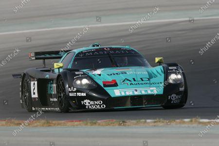 Jamie Davis (GBR) Vitaphone Racing Maserati MC12 GT1, finished third. FIA GT Championship, Rd10, Dubai, United Arab Emirates, 18 November 2006. DIGITAL IMAGE