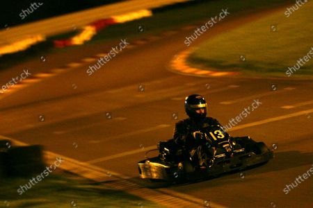 Team 13, Mike Williams / Paul Logan / Nick Williams. The Brundle Challenge, Daytona Karting, Milton Keynes, England, 26 October 2006. DIGITAL IMAGE
