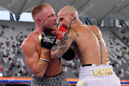 Editorial photo of Luke Jackson vs Tyson Lantry, in Australia, Sydney - 16 Dec 2020