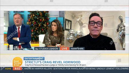 Piers Morgan, Susanna Reid and Craig Revel Horwood