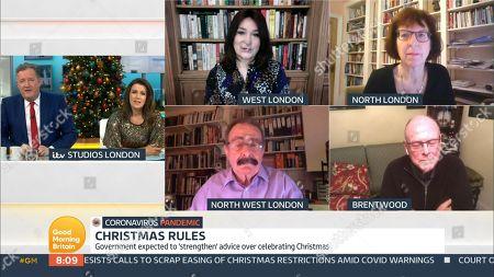 Editorial image of 'Good Morning Britain' TV Show, London, UK - 16 Dec 2020
