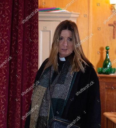 Stock Picture of Emmerdale - Ep 8932 Friday 1st January 2021 Harriet Finch, as played by Katherine Dow Blyton.