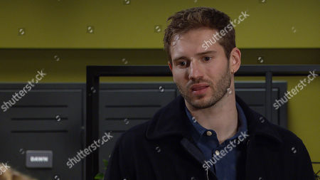 Emmerdale - Ep 8934 Tuesday 5th January 2021 Jamie Tate, as played by Alexander Lincoln, vows to make things difficult should Will continue to interfere with him and Dawn Taylor after she tells him she wants to keep their relationship professional.