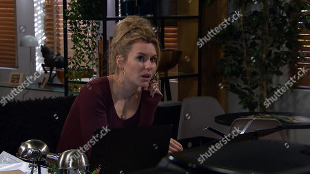 Emmerdale - Ep 8934 Tuesday 5th January 2021 Jamie Tate vows to make things difficult should Will continue to interfere with him and Dawn Taylor, as played by Olivia Bromley, after she tells him she wants to keep their relationship professional.