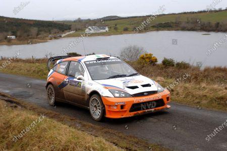 Eamon Boland (IRL), Ford Focus WRC, on Stage 3. FIA World Rally Championship - Candidate; Rally Ireland, Sligo, Republic of Ireland, 10-12 March 2006. DIGITAL IMAGE