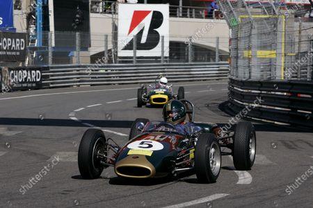 Peter Strauss (AUS) Brabham BT6 5th Historic Grand Prix of Monte Carlo, Monaco, Monaco, 20-21 May 2006. DIGITAL IMAGE
