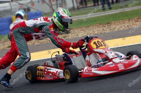 Matt Truelove (GBR), Andy Cox Racing. 2006 CIK-FIA World Karting Championship, Angerville, France, 30 September - 01 October 2006. DIGITAL IMAGE