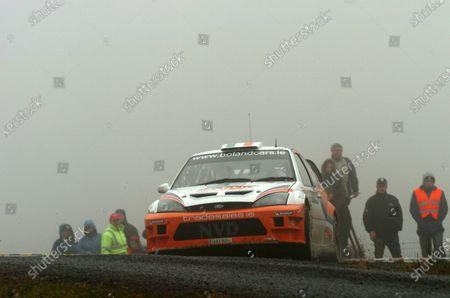 Eamon Boland (IRL), Ford Focus, on Stage 8. FIA World Rally Championship - Candidate; Rally Ireland, Sligo, Republic of Ireland, 10-12 March 2006. DIGITAL IMAGE