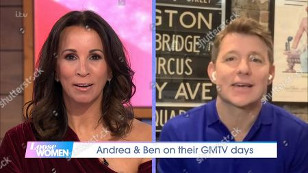 Andrea McLean and Ben Shephard