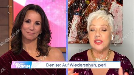 Stock Image of Andrea McLean and Denise Welch