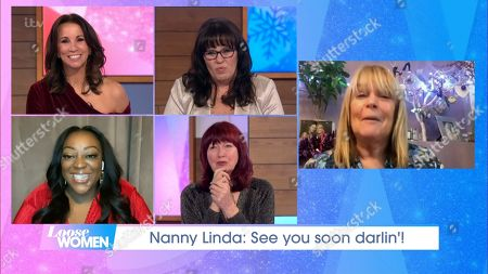 Stock Picture of Andrea McLean, Coleen Nolan, Judi Love, Janet Street-Porter and Linda Robson