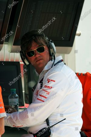 Victor Muller (NED) Spyker CEO. Formula One World Championship, Rd 4, Spanish Grand Prix, Practice Day, Barcelona, Spain, Friday 11 May 2007. DIGITAL IMAGE