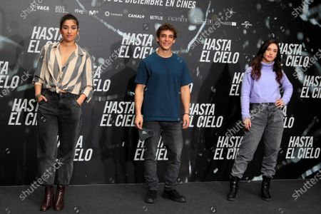 "Editorial photo of Presentation of the film '""Hasta el cielo"" (Up to Heaven), Madrid, Spain - 16 Dec 2020"