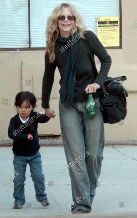 Meg Ryan and daughter Daisy True Ryan