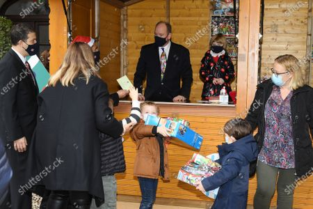 Editorial photo of Christmas Gifts Distribution at Monaco Palace, Monte-Carlo, Monaco - 16 Dec 2020