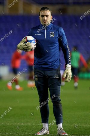 PORTRAIT Coventry City's Lee Camp during the EFL Sky Bet Championship match between Coventry City and Huddersfield Town at the Trillion Trophy Stadium, Birmingham