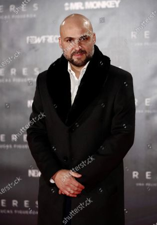 Argenitinian filmaker Lucas Figueroa poses for the media during the preview of the documentary 'Renaceres' in Madrid, Spain, 16 December 2020.