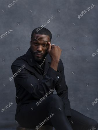 Yahya Abdul-Mateen II poses for a portrait, in New York. Abdul-Mateen has been named one of The Associated Press' Breakthrough Entertainers of 2020