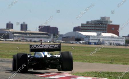 Paul Tracy (CDN) Newman Haas Lanigan Racing.  Champ Car World Series, Rd8, Rexall Speedway, Edmonton, USA,   20-22 July 2007.